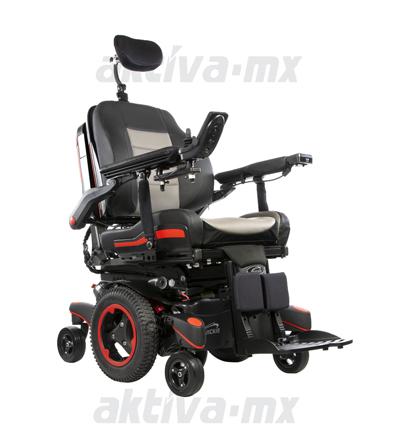 Silla de ruedas motorizada con funciones electrónicas